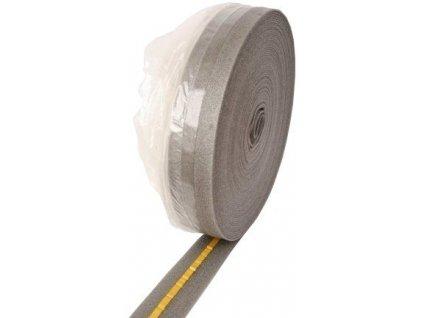 Dilatační pásek s fólií a samolepicí páskou 5 x 100 mm - role 50m