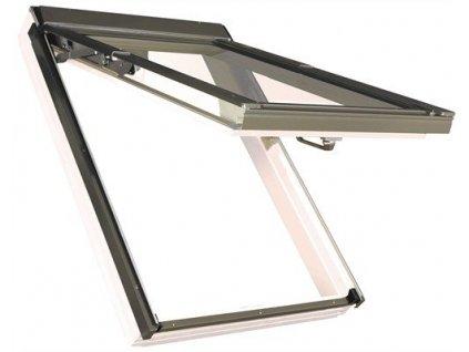 Střešní okno dřevěné 66x118 cm FPU-V U5 trojsklo FAKRO