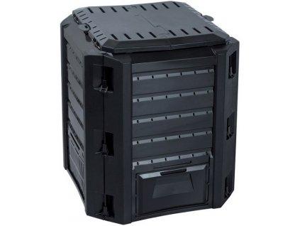 KompostérCompogreen 380 l v černé barvě.
