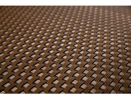Stínící rohož na plot 0,9 x 20 m čokoládová hnědá RattanArt