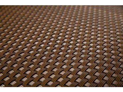 Stínící rohož na plot 1 x 20 m čokoládová hnědá RattanArt