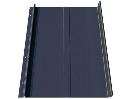 Plechová krytina střešní panel Blachotrapez RETRO 25/340 0,5 RAL lesklá