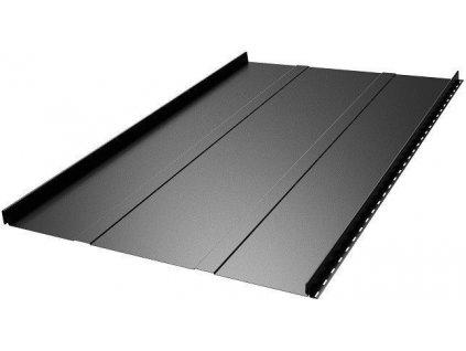 Plechová krytina střešní panel Blachotrapez RETRO 38/529 0,5 PLADUR lesklá