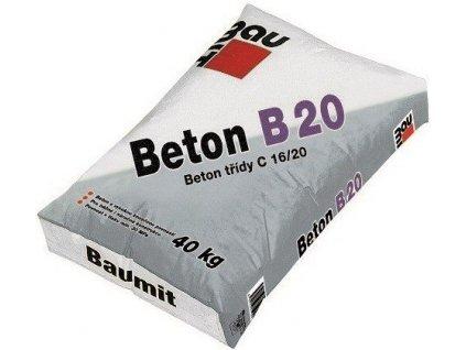 Beton B20 4 mm Baumit 40 kg