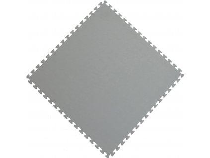 Protiskluzová dlažba šedá PP 50 x 50 x 0,5 cm krytina Bubbles