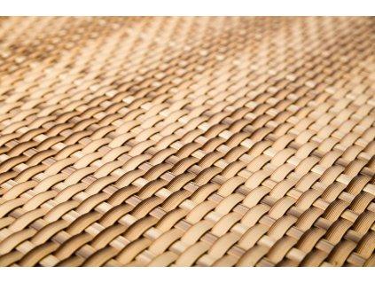 Stínící rohož na plot 1 x 5 m béžová RattanArt