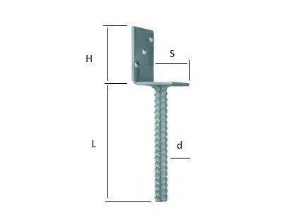 Nosník sloupu jednostranný 80 x 100 x 200mm W-PBR-L