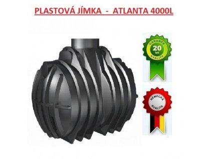 Plastová jímka BETAXO - ATLANTA 4000L