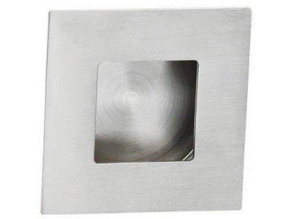 Dveřní úchyt na posuvné dveře - nerez 40x40mm