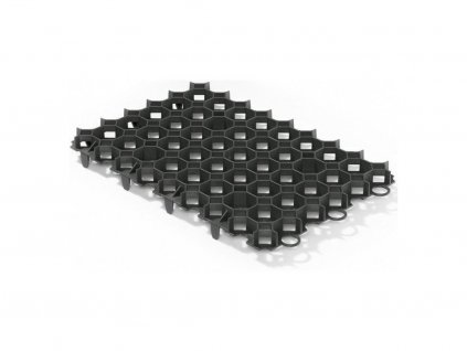 Zatravňovací dlažba plastová 56x38x3,1/5,4cm tvárnice GUTTAGARDEN ECO černá