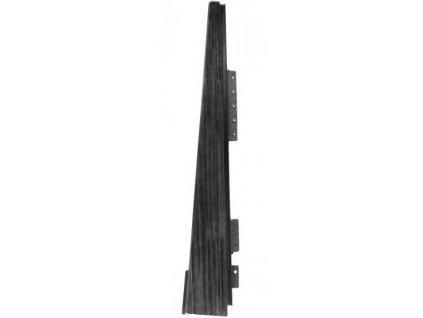 Drdlíkův dřevěný šindel Nároží DDN II plastový šindel EUREKO černá