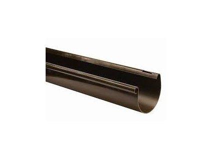 Okapy žlab 250 mm pozink RAL 8017 hnědý 2m EVROmat