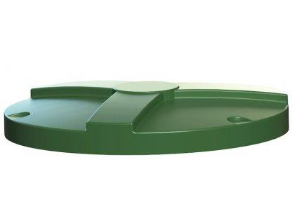 Poklop KLASIK víko zelené na jímky Betaxo