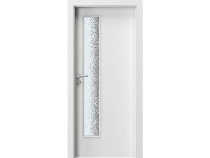 Dveře interierové lakované LIFT bílé Verte Basic PORTA DOORS
