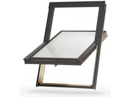 Dřevěné střešní okno DAKEA Better Energy 55 x 78 cm + manžeta ZDARMA