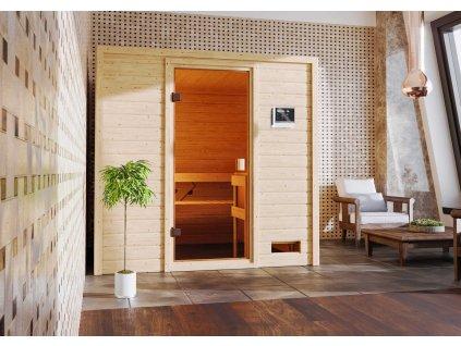 Finská sauna KARIBU ADELINA