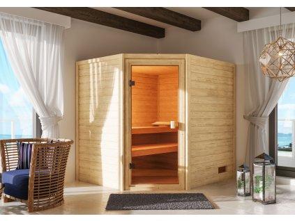Finská sauna KARIBU ELEA