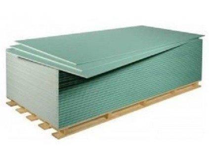 Sádrokartonová deska impregnovaná zelená Lafarge 12,5 mm (2,5m2)