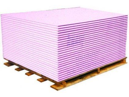 Sádrokartonová deska protipožární růžová Lafarge 12,5 mm (2,5m2)