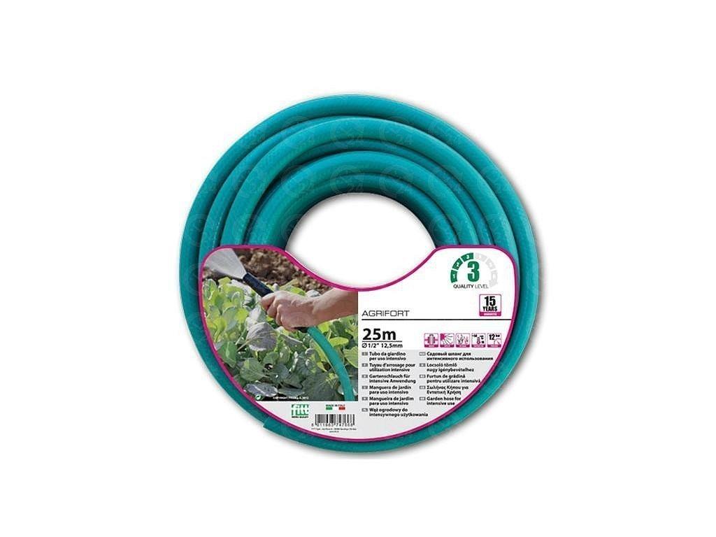 """Zavlažovacie hadice tyrkysová 1/2 """" Agrifort 25m (5 vrstvová)"""