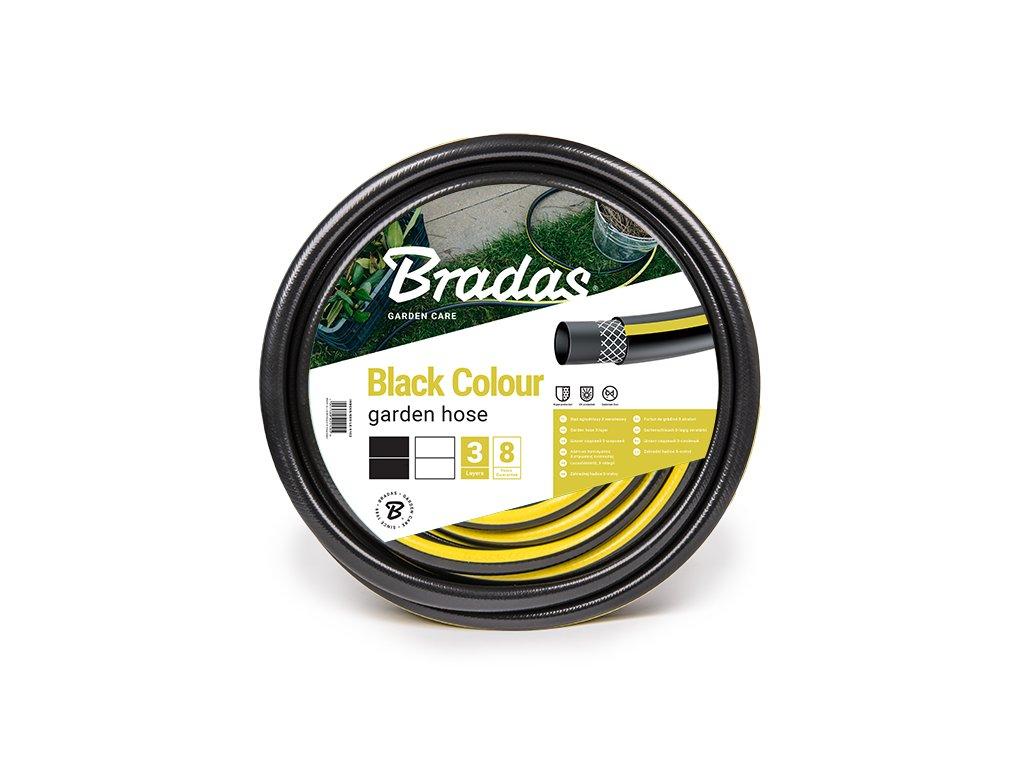 """Zavlažovacie hadice čierna Bradas 1/2 """" 50 m (3-vrstvová)"""