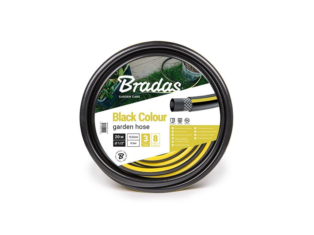 """Čierna zavlažovacie hadice 5/8 """" 50 m (3-vrstvová) Bradas"""