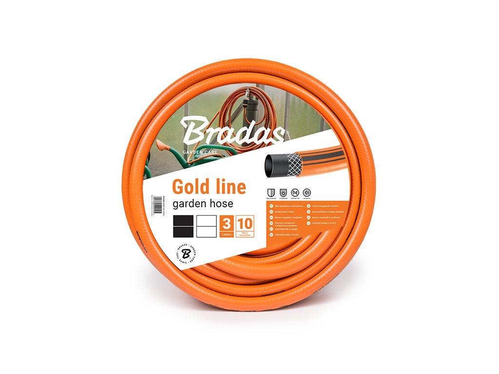 """Záhradná hadica oranžová 3/4 """" - 20 m GOLD LINE Bradas"""