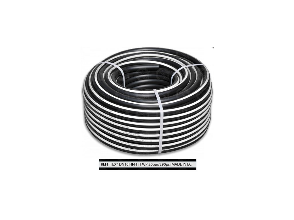 Vzduchová technická hadica pr. 8mm / d. 25m (20bar) 3 vrstvová