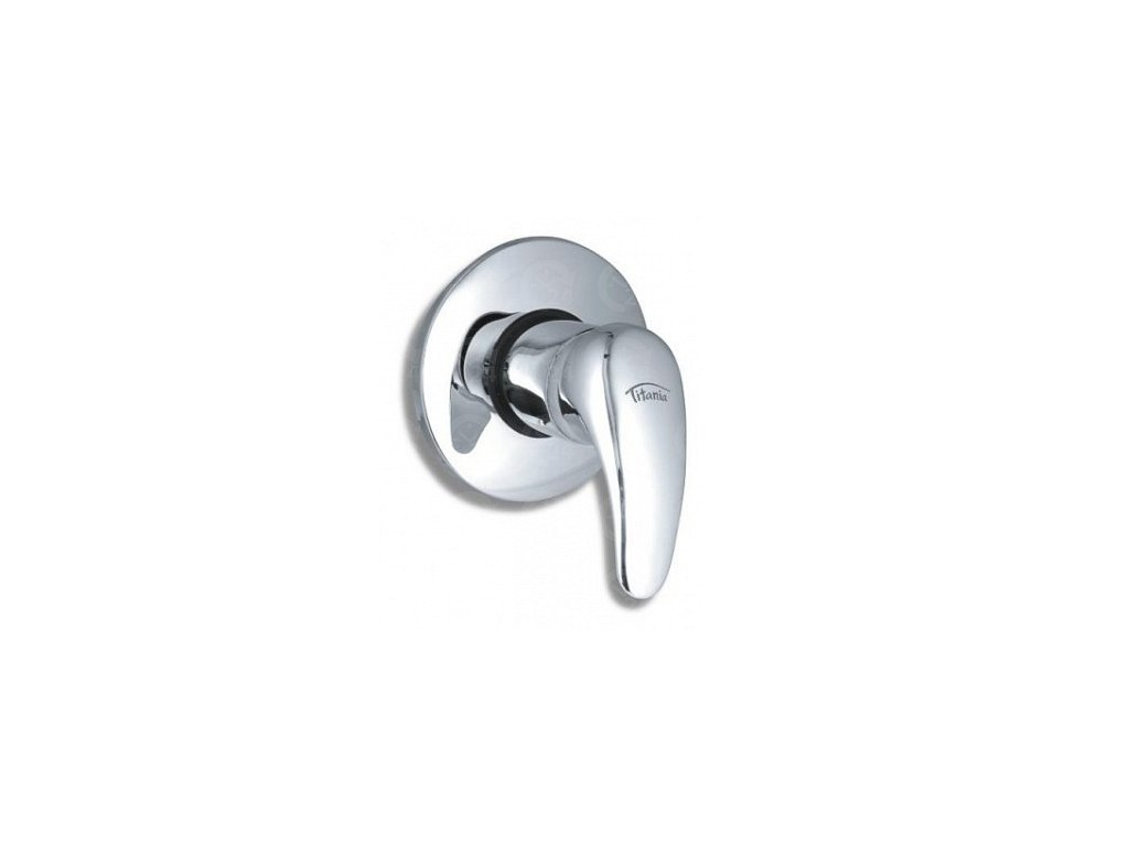 Sprchová vodovodné batérie podomietková Titania Lux chróm