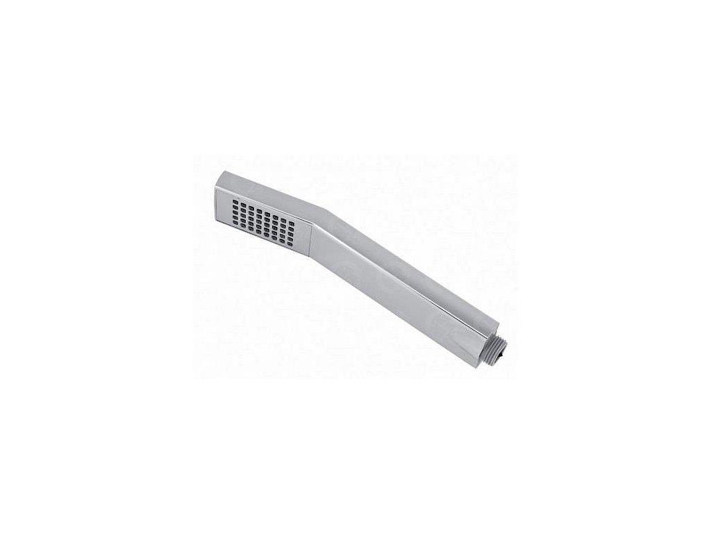Ručná sprcha chrómová hranatá 345 mm
