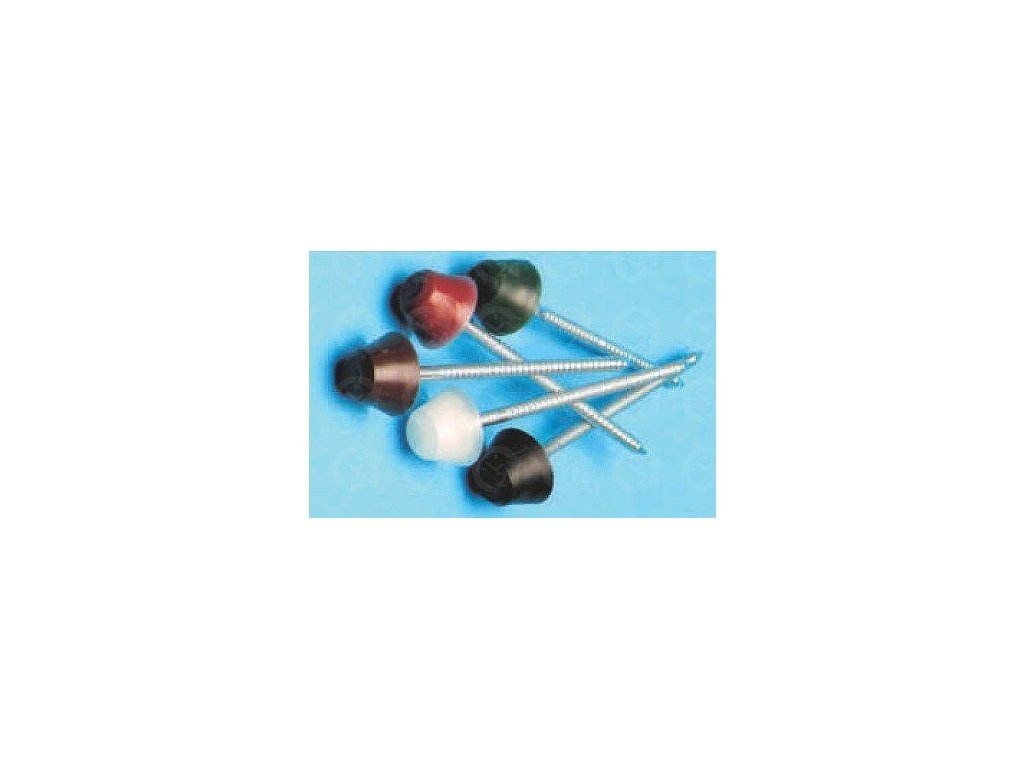 Strešné KLINCE čierne PVC pre bitúmenové dosky 200ks