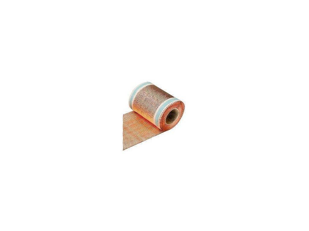 Komínový strešný pás medený 0,3 x 5 m VÝPREDAJ