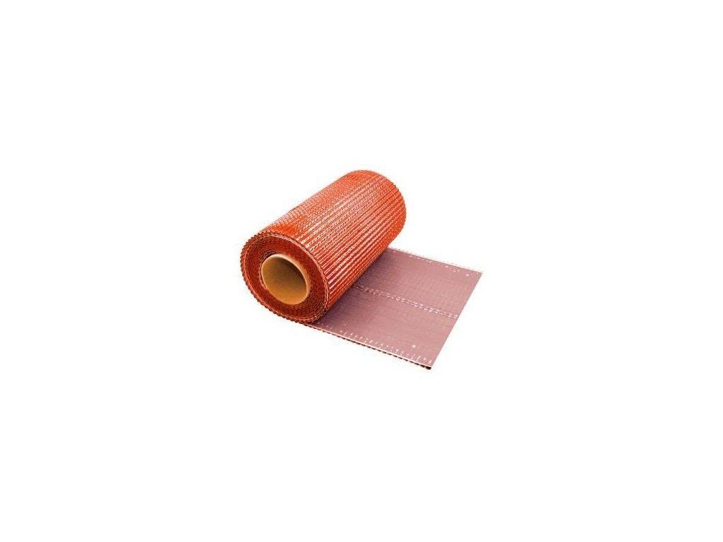 Komínový strešný pás olovený tehlový 0,3 x 5 m