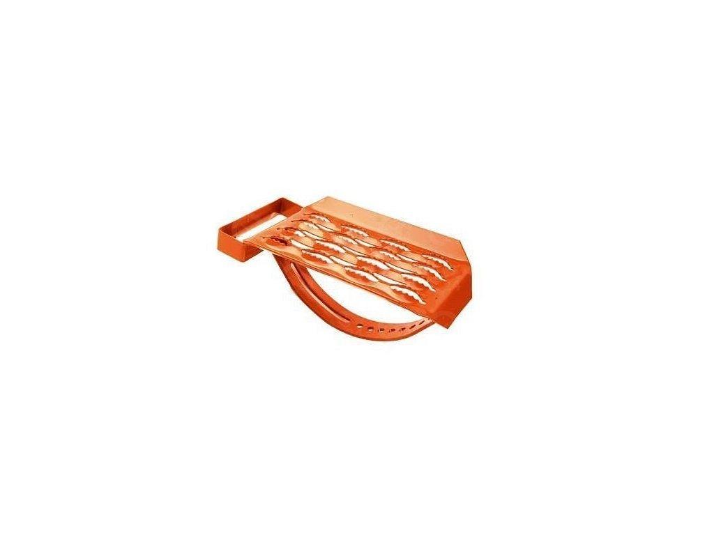 Nášľap tašky stúpací - tehlový
