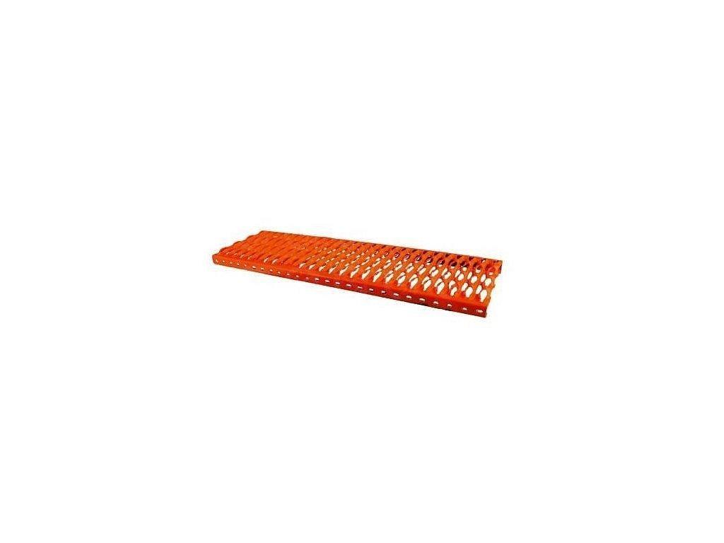 Strešná lávka - nášľapný rošt 1000 mm gaštan - červenohnedá
