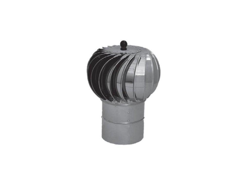 Samostatná komínová hlavica Turbowent 150 mm