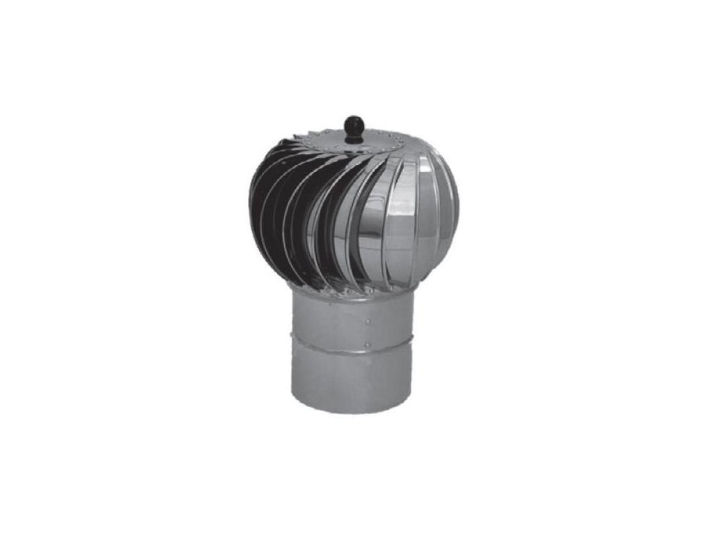 Samostatná komínová hlavica Turbowent 200 mm