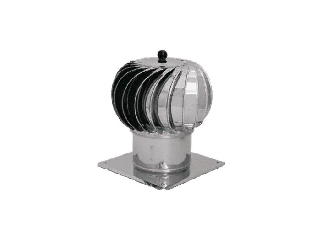 Komínová hlavica so základňou Turbowent 150 mm