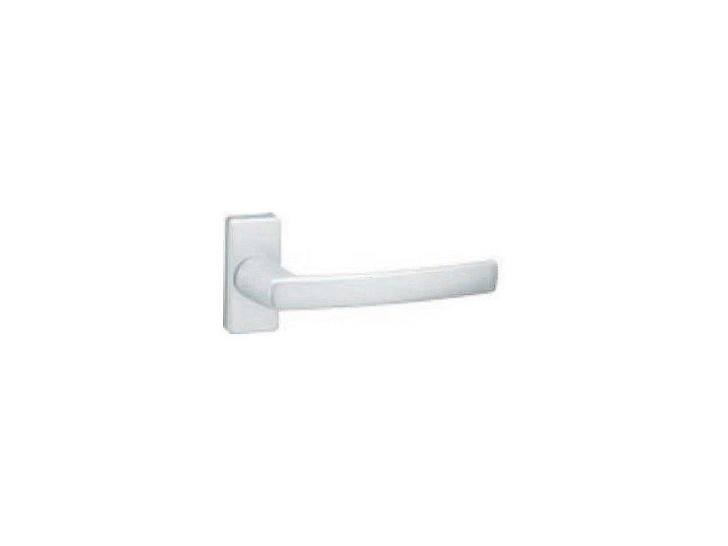 Balkónová kľučka na balkón ST4 strieborný elox COBRA