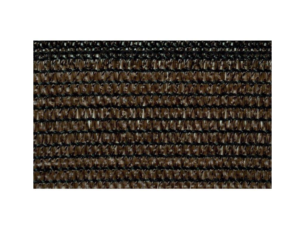 Tieniaca tkanina na plot 84% sieťka 1 x 50 m hnedá