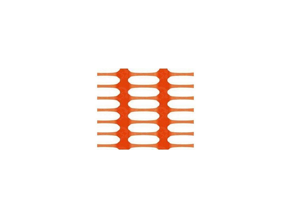Bezpečnostná sieť vyznačovacia oranžová 1,2 x 50 m DRAGON (250g / m2)