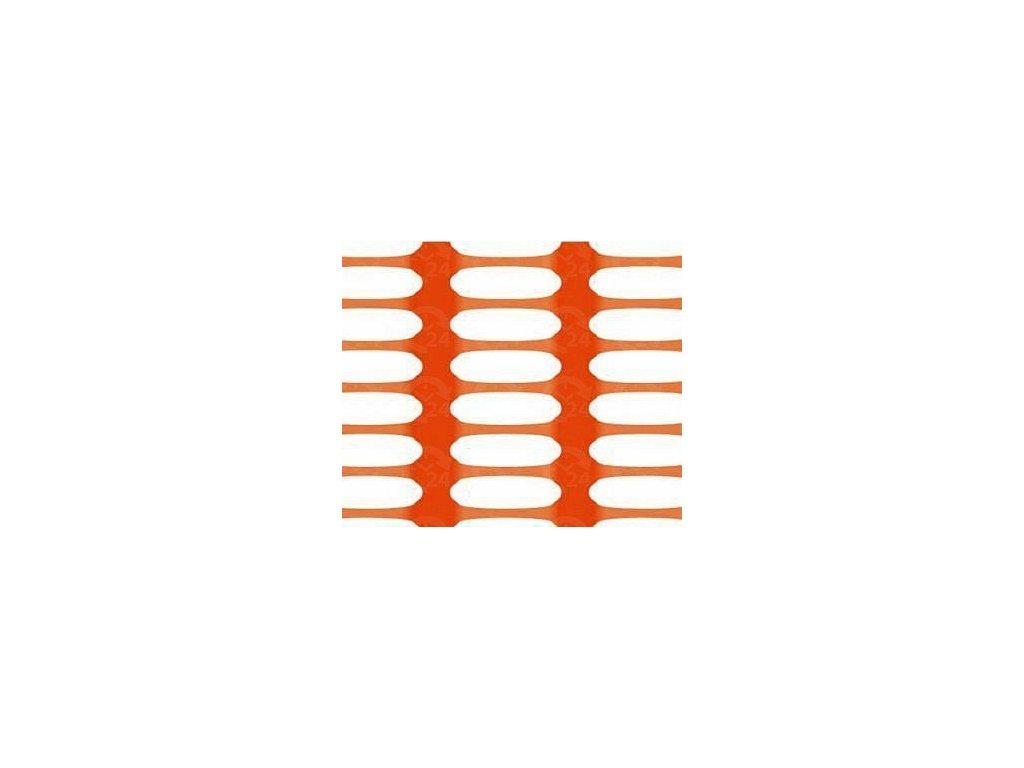 Bezpečnostná sieť vyznačovacia oranžová 1,5 x 50 m DRAGON (250g / m2)