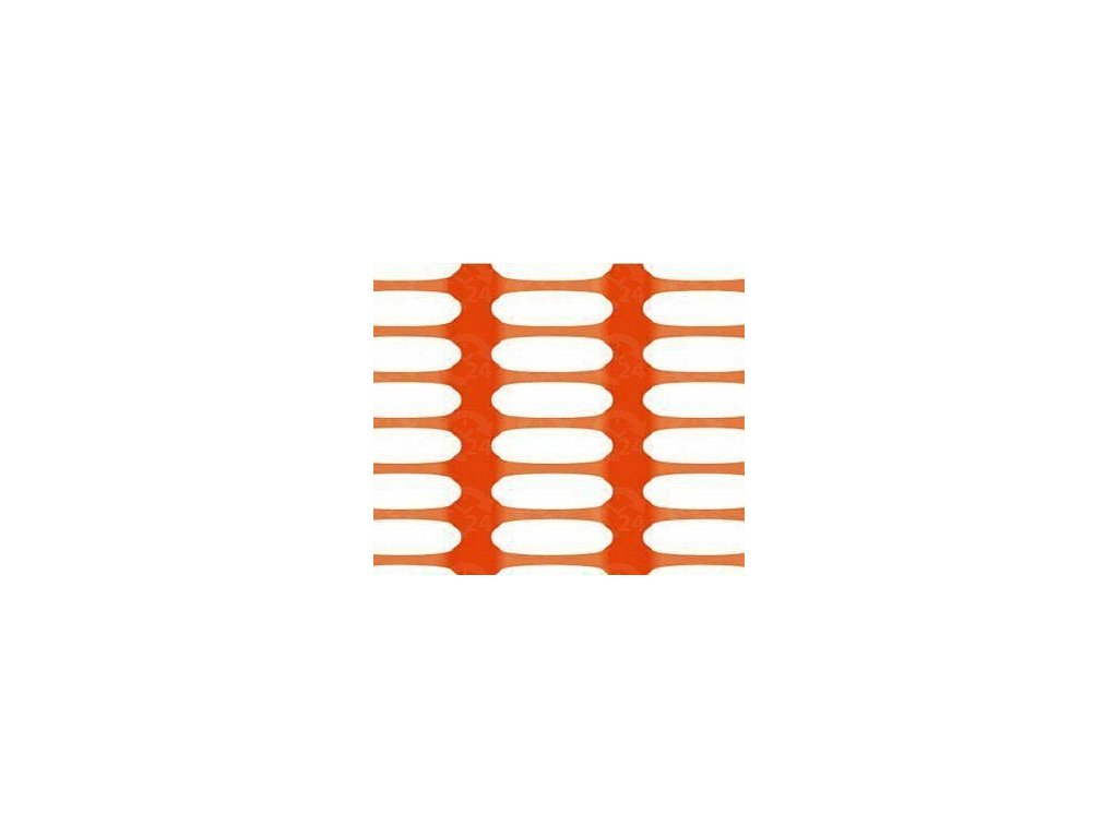 Bezpečnostná sieť vyznačovacia oranžová 1,8 x 50 m DRAGON (250g / m2)