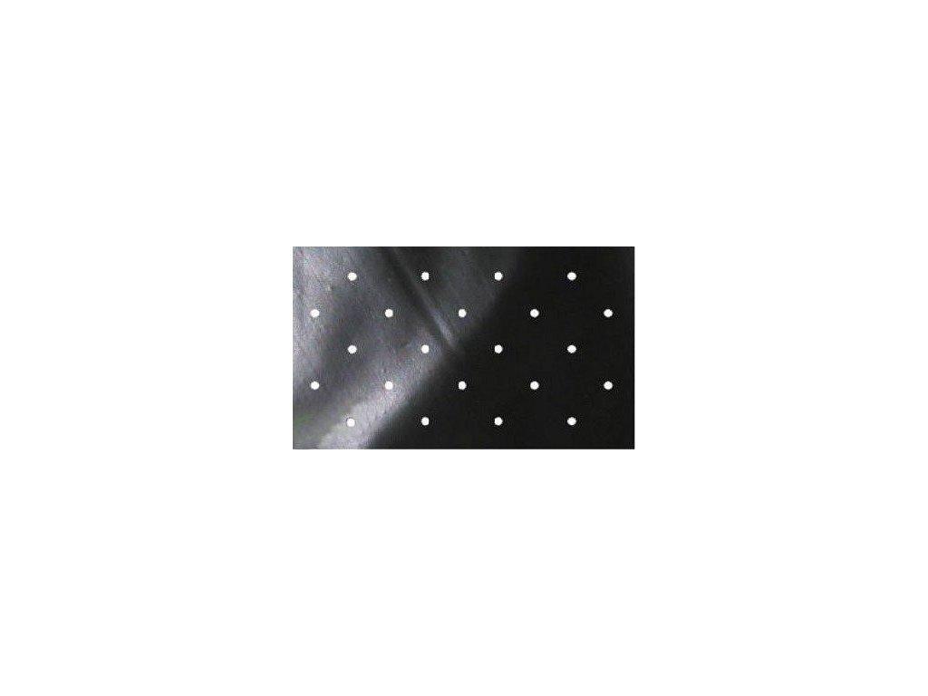 Folie na záhony proti burín PE (40 mikr.) DOT COVER 1,5 x 5 m čierna