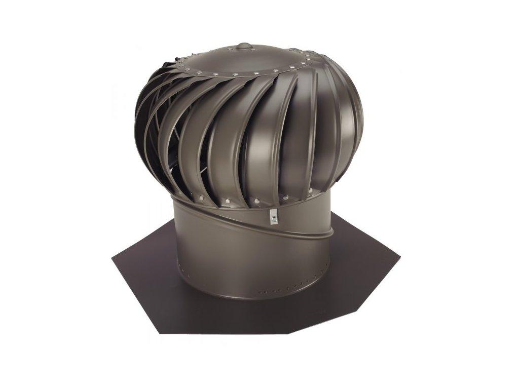 """Ventilačná turbína BIB 12 """" Lomanco hnedá Ø305mm KOMPLET"""