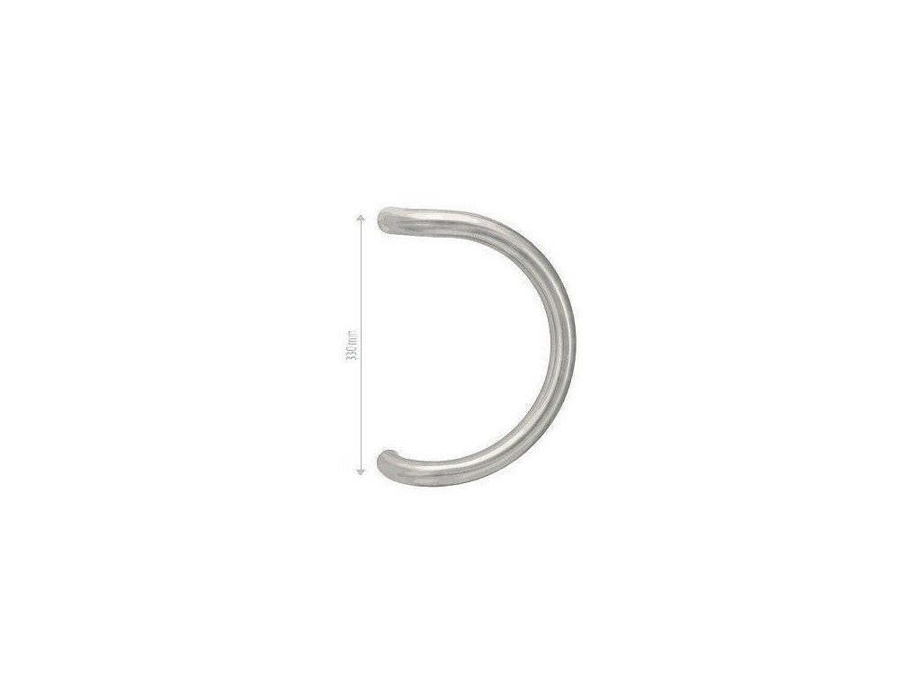 Nerezové madlo na dvere 33 cm INOX B - kus