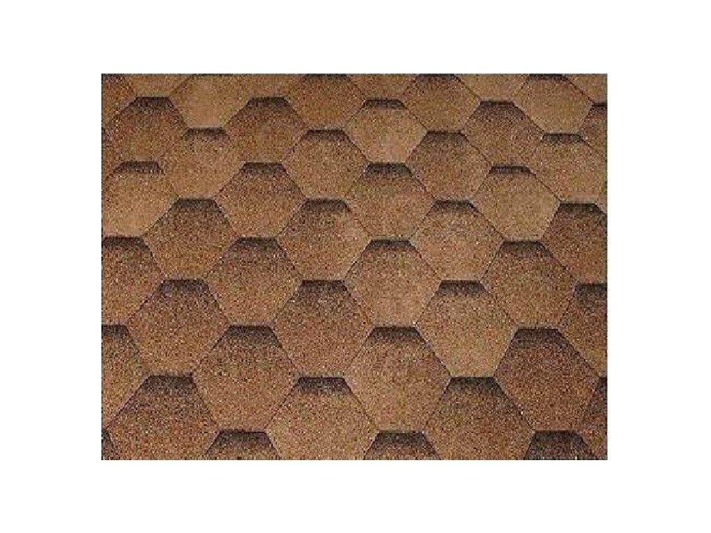 Strešné šindle KATRILLI púštná hnedá KATEPAL