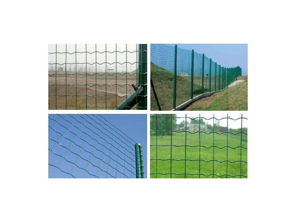 Záhradné pletivo zvárané PILONET MIDDLE 100 cm ZN + PVC 25 m