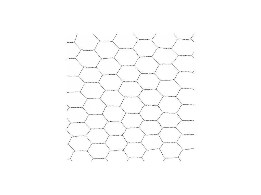 Pozinkované pletivo ZN 1 x 50 m šesťhranné (oko 40x40mm)