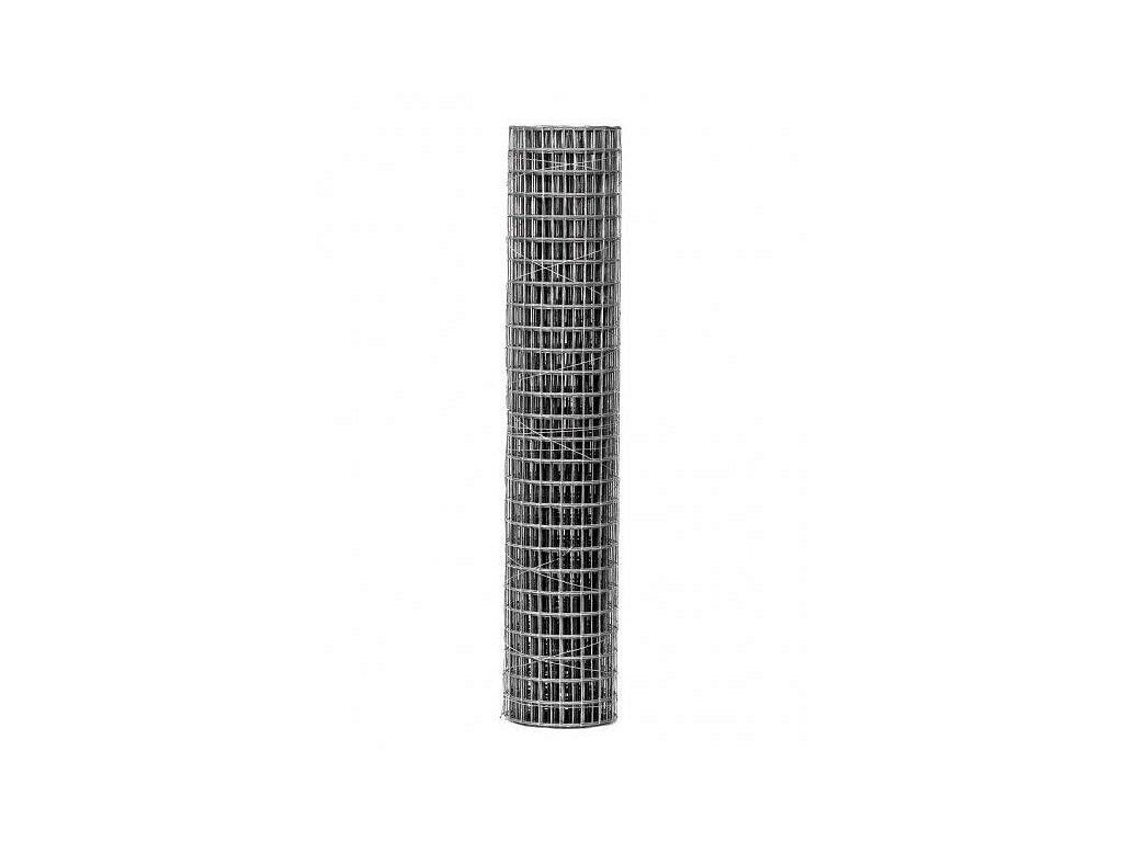 Pozinkovaná sieť pletivo zvárané HOBBY oko 12,7 mm, v. 50 cm